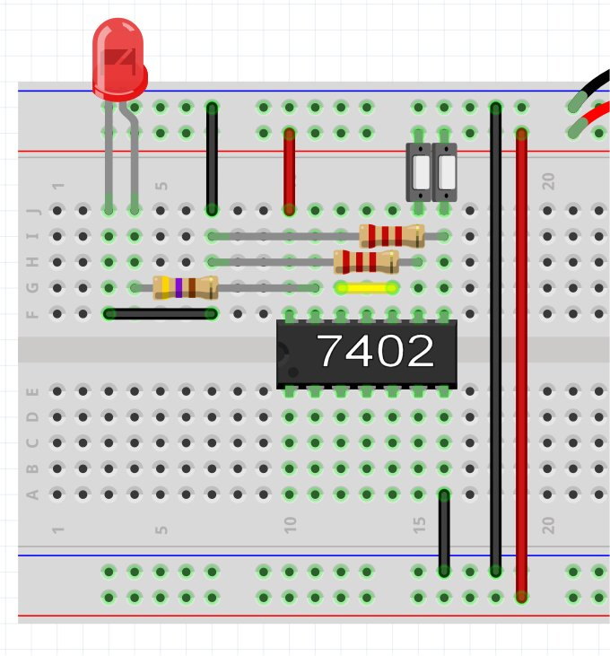 Breadboard2 Logic Multiple Gates Joes Hobby Electronics